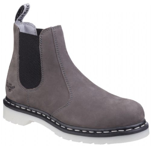 Dr Martens Arbor Ladies Grey Safety Boots